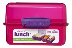 Sistema brooddoos Trends Lunch Cube roze