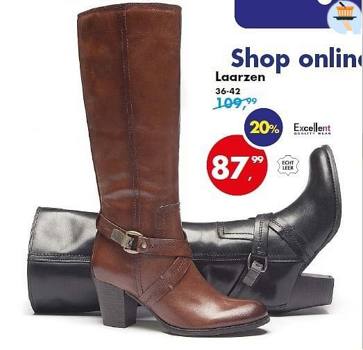Bristol aanbieding: Dames laarzen Excellent Quality Wear