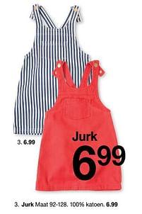 Aanbiedingen Jurk - Huismerk - Zeeman - Geldig van 30/01/2020 tot 31/08/2020 bij Zeeman