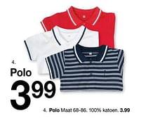 Aanbiedingen Polo - Huismerk - Zeeman - Geldig van 30/01/2020 tot 31/08/2020 bij Zeeman