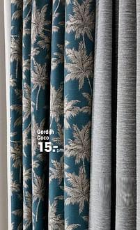 Aanbiedingen Gordijn coco - Huismerk - Kwantum - Geldig van 16/03/2020 tot 27/09/2020 bij Kwantum