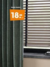 Aanbiedingen Gordijn sandra - Huismerk - Kwantum - Geldig van 16/03/2020 tot 27/09/2020 bij Kwantum