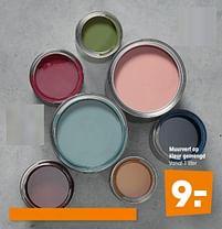 Aanbiedingen Muurverf op kleur gemengd - Huismerk - Kwantum - Geldig van 16/03/2020 tot 27/09/2020 bij Kwantum