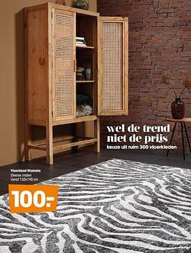 Aanbiedingen Vloerkleed wyandra - Huismerk - Kwantum - Geldig van 16/03/2020 tot 27/09/2020 bij Kwantum