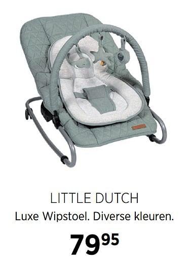 Little Dutch Luxe Wipstoel   Babypark