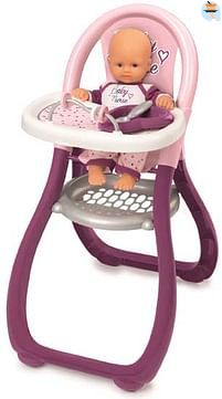 Aanbiedingen Baby Nurse hoge poppenstoel - Smoby - Geldig van 10/10/2020 tot 01/11/2020 bij Toychamp