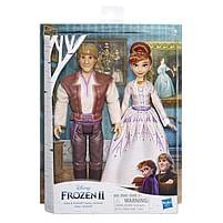 Aanbiedingen Frozen 2 Romance Set Anna & Kristoff - Hasbro - Geldig van 10/10/2020 tot 01/11/2020 bij Toychamp
