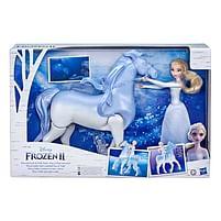 Aanbiedingen Frozen 2 Interactieve Nokk en Elsa - Hasbro - Geldig van 10/10/2020 tot 01/11/2020 bij Toychamp