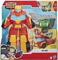Aanbiedingen Transformers Big Rescue Hot Shot - Hasbro - Geldig van 10/10/2020 tot 01/11/2020 bij Toychamp
