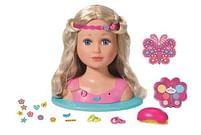 Aanbiedingen Baby Born Sister kapkop - Zapf creation - Geldig van 17/10/2020 tot 06/12/2020 bij Toychamp