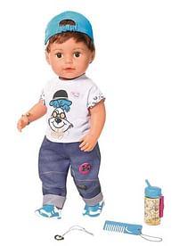 Aanbiedingen De broer van Baby Born 43cm - Zapf creation - Geldig van 17/10/2020 tot 06/12/2020 bij Toychamp