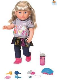 Aanbiedingen De zus van Baby Born (blond) - Zapf creation - Geldig van 17/10/2020 tot 06/12/2020 bij Toychamp