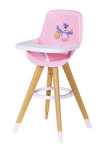 Aanbiedingen BABY born Kinderstoel voor poppen - Zapf creation - Geldig van 17/10/2020 tot 06/12/2020 bij Toychamp
