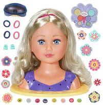 Aanbiedingen Baby Born Sister kapkop met make up - Zapf creation - Geldig van 17/10/2020 tot 06/12/2020 bij Toychamp