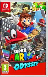 Aanbiedingen Switch Super Mario Odyssey - Nintendo - Geldig van 17/10/2020 tot 06/12/2020 bij Toychamp