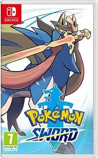 Aanbiedingen Switch Pokemon - Sword - Nintendo - Geldig van 17/10/2020 tot 06/12/2020 bij Toychamp