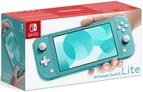 Aanbiedingen Nintendo Switch Console Lite Turkoois - Nintendo - Geldig van 17/10/2020 tot 06/12/2020 bij Toychamp