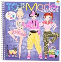 Aanbiedingen TOPModel Dress Me Up Stickerbook DANCE - Top Model - Geldig van 17/10/2020 tot 06/12/2020 bij Toychamp