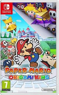 Aanbiedingen Switch Paper Mario the Origami King - Nintendo - Geldig van 17/10/2020 tot 06/12/2020 bij Toychamp