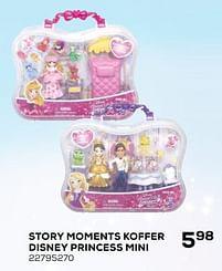 Aanbiedingen Story moments koffer disney princess mini - Hasbro - Geldig van 16/03/2021 tot 20/04/2021 bij Supra Bazar