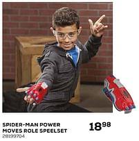 Aanbiedingen Spider-man power moves role speelset - Hasbro - Geldig van 16/03/2021 tot 20/04/2021 bij Supra Bazar