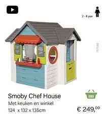 Aanbiedingen Smoby chef house - Smoby - Geldig van 14/03/2021 tot 31/05/2021 bij Multi Bazar