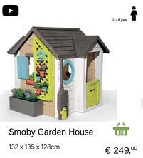 Aanbiedingen Smoby garden house - Smoby - Geldig van 14/03/2021 tot 31/05/2021 bij Multi Bazar