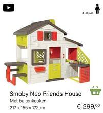 Aanbiedingen Smoby neo friends house - Smoby - Geldig van 14/03/2021 tot 31/05/2021 bij Multi Bazar