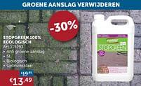 Aanbiedingen Stopgreen 100% ecologisch - Forever - Geldig van 30/03/2021 tot 26/04/2021 bij Zelfbouwmarkt