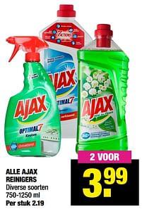 Aanbiedingen Alle ajax reinigers - Ajax - Geldig van 12/04/2021 tot 25/04/2021 bij Big Bazar