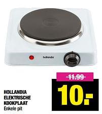 Aanbiedingen Hollandia elektrische kookplaat - Hollandia - Geldig van 12/04/2021 tot 25/04/2021 bij Big Bazar