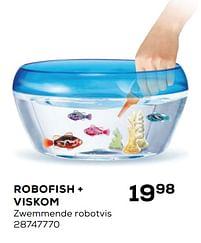 Aanbiedingen Robofish + viskom zwemmende robotvis - RoboAlive - Geldig van 20/04/2021 tot 25/05/2021 bij Supra Bazar
