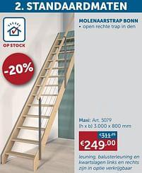 Aanbiedingen Molenaarstrap bonn maxi -  - Geldig van 25/05/2021 tot 21/06/2021 bij Zelfbouwmarkt