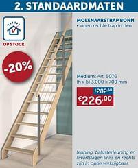 Aanbiedingen Molenaarstrap bonn medium -  - Geldig van 25/05/2021 tot 21/06/2021 bij Zelfbouwmarkt