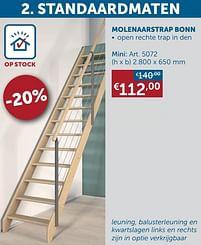 Aanbiedingen Molenaarstrap bonn mini -  - Geldig van 25/05/2021 tot 21/06/2021 bij Zelfbouwmarkt