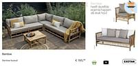 Aanbiedingen Bamboe fauteuil - Exotan - Geldig van 21/05/2021 tot 30/06/2021 bij Multi Bazar