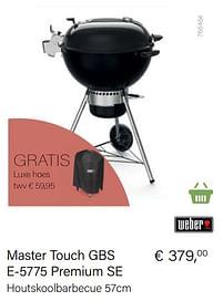 Aanbiedingen Weber master touch gbs e-5775 premium se - Weber - Geldig van 21/05/2021 tot 30/06/2021 bij Multi Bazar