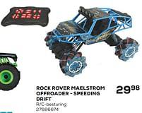 Aanbiedingen Rock rover maelstrom offroader - speeding drift - Huismerk - Supra Bazar - Geldig van 25/05/2021 tot 22/06/2021 bij Supra Bazar