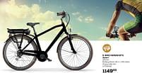 Aanbiedingen E-bike herenfiets zwart - E-Bike - Geldig van 25/05/2021 tot 22/06/2021 bij Supra Bazar