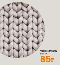 Aanbiedingen Vloerkleed chunky - Huismerk - Kwantum - Geldig van 14/06/2021 tot 27/06/2021 bij Kwantum
