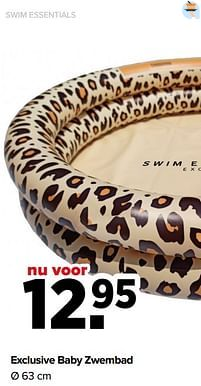 Aanbiedingen Exclusive baby zwembad - Swim Essentials - Geldig van 07/06/2021 tot 03/07/2021 bij Baby-Dump