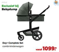 Aanbiedingen Day+ complete set combi-kinderwagen - Joolz - Geldig van 07/06/2021 tot 03/07/2021 bij Baby-Dump