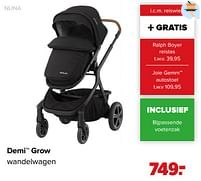 Aanbiedingen Demi grow wandelwagen - Nuna - Geldig van 07/06/2021 tot 03/07/2021 bij Baby-Dump