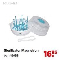 Aanbiedingen Sterilisator magnetron - Bo Jungle - Geldig van 07/06/2021 tot 03/07/2021 bij Baby-Dump