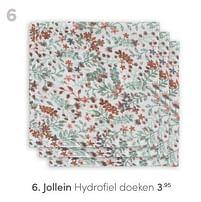 Aanbiedingen Jollein hydrofiel doeken - Jollein - Geldig van 13/06/2021 tot 19/06/2021 bij Baby & Tiener Megastore