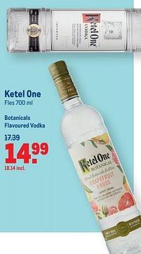 Aanbiedingen Ketel one botanicals flavoured vodka - Ketel One - Geldig van 07/07/2021 tot 03/08/2021 bij Makro