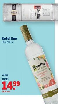 Aanbiedingen Ketel one vodka - Ketel One - Geldig van 07/07/2021 tot 03/08/2021 bij Makro