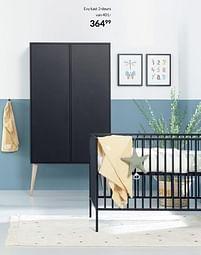 Aanbiedingen Evy kast 2-deurs - Huismerk - Babypark - Geldig van 20/07/2021 tot 16/08/2021 bij Babypark