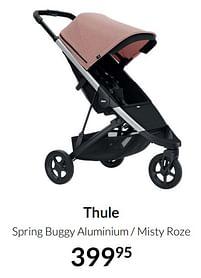 Aanbiedingen Thule spring buggy aluminium - misty roze - Thule - Geldig van 20/07/2021 tot 16/08/2021 bij Babypark