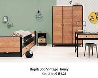 Aanbiedingen Bopita job vintage honey kast 3-drs - Bopita - Geldig van 20/07/2021 tot 16/08/2021 bij Babypark